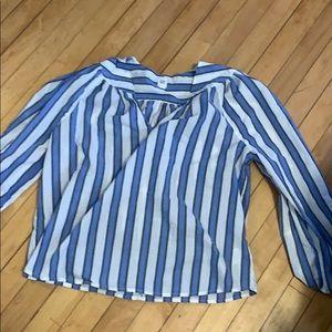 GAP peasant style blouse
